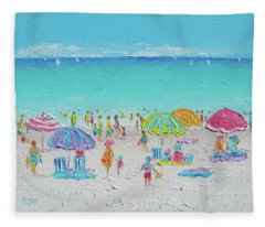 Sweet Sweet Summer Fleece Blanket