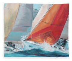 Swells Fleece Blanket