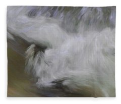 Fleece Blanket featuring the photograph Swept Away  by Andrea Kollo
