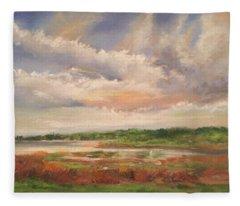 Swift Creek Va Fleece Blanket