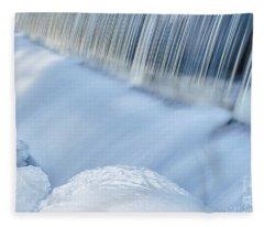 Swift River Reservation Petersham Massachusetts Fleece Blanket