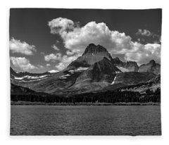 Swiftcurrent Lake 3 Fleece Blanket