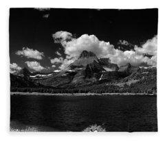 Swiftcurrent Lake 4 Fleece Blanket