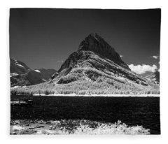 Swiftcurrent Lake 5 Fleece Blanket
