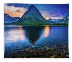 Swiftcurrent Twilight Fleece Blanket