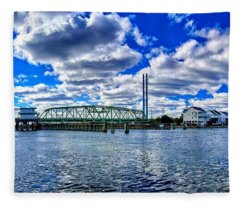 Swing Bridge Heaven Fleece Blanket