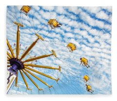 Swings On High Fleece Blanket