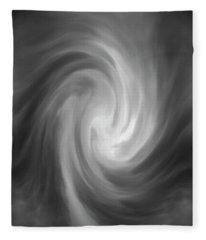 Swirl Wave Iv Fleece Blanket