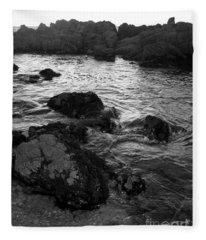 Swirling Tide Fleece Blanket