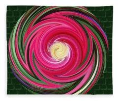 Swirls Of Color Fleece Blanket