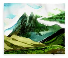 Switzerland Fleece Blanket
