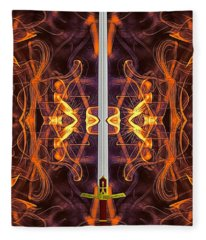 Sword Of Tomorrow Fleece Blanket