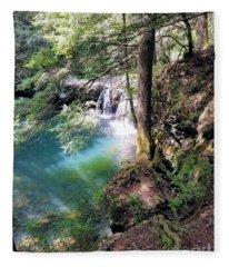 Sycamore Falls Fleece Blanket