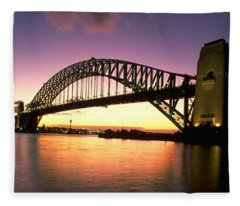 Sydney Harbour Bridge Fleece Blanket
