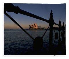 Sydney Opera House Fleece Blanket