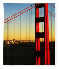 Symphonie In Steel Fleece Blanket