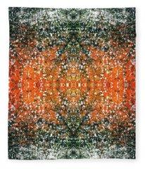 Synchronicity Enlightenment #1393 Fleece Blanket