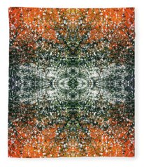Synchronicity Enlightenment #1394 Fleece Blanket