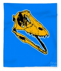 T-rex Graphic Fleece Blanket