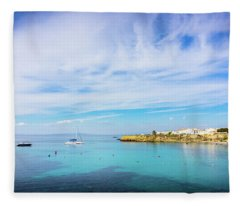 Tabarca Island Fleece Blanket