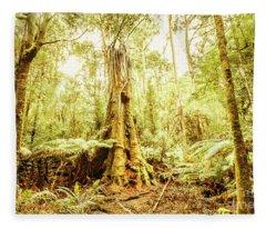 Tahune Forest Reserve Fleece Blanket
