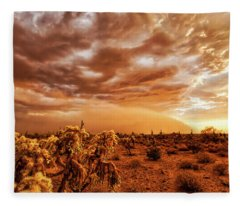 Fleece Blanket featuring the photograph Take Cover by Rick Furmanek