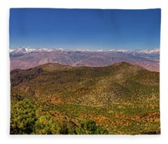Fleece Blanket featuring the photograph Take It All In by Rick Furmanek