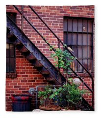 Take The Stairs Fleece Blanket