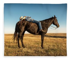 Taking A Snooze Fleece Blanket