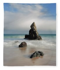 Tall And Proud On Sango Bay Fleece Blanket
