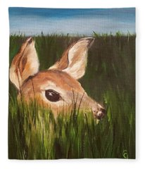 Tall Grass    #63 Fleece Blanket