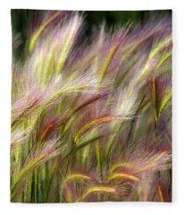 Tall Grass Fleece Blanket