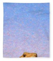 Tall Prairie Dog Fleece Blanket