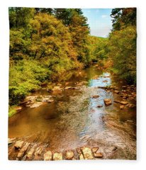 Tallulah River Fleece Blanket