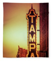 Tampa Theatre Fleece Blanket