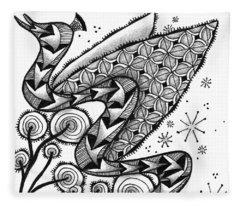 Tangled Serpent Fleece Blanket