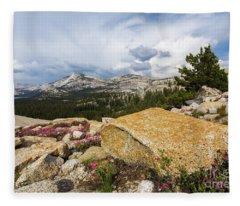 Tanya Overlook  Fleece Blanket