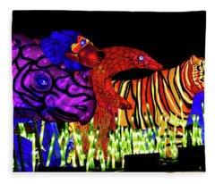 Taronga For The Wild 1 Fleece Blanket