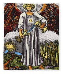 Tarot Gold Edition - Major Arcana - Temperance Fleece Blanket