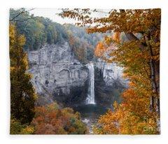 Taughannock Autumn Fleece Blanket