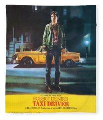 Taxi Driver - Robert De Niro Fleece Blanket