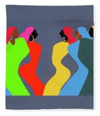 Tchokola Fleece Blanket