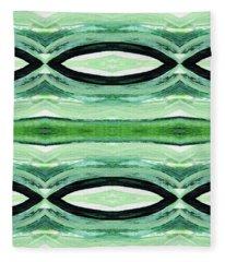 Tea Garden 2- Art By Linda Woods Fleece Blanket
