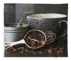 Tea Time 8312 Fleece Blanket