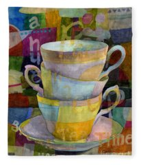Tea Time Fleece Blankets