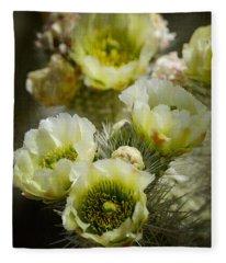 Teddy Bear Cholla-cylindropuntia Bigelovii Fleece Blanket