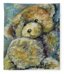 Teddy Bear Fleece Blanket