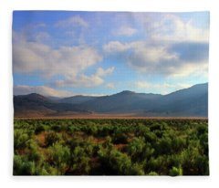 Tehachapi Mountains 2 Fleece Blanket