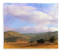 Tehachapi Valley Fleece Blanket