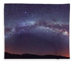 Teide Milky Way Fleece Blanket